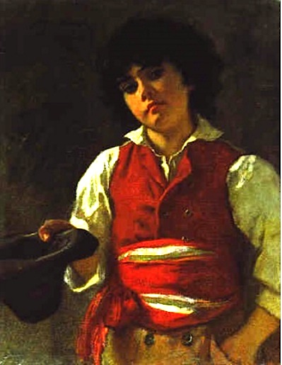 Carl Ludwig Friedrich Becker-PorträteinesKnaben
