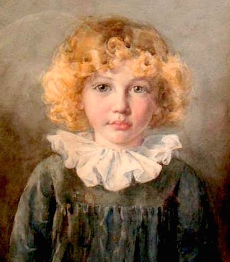 george-laurence-nelson-The-artist'sson